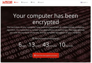 Petya Ransomware – What you should know and how to prevent it